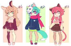 Kemonomimi point adopts (CLOSED) by liveson