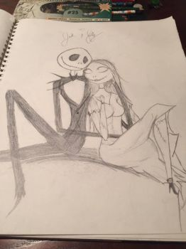 Jack and Sally by madam3gr33n