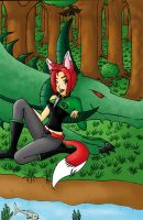 By the waterside by white-fang-demon