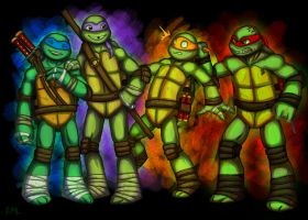 NickTMNT by Ruija
