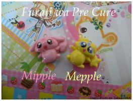 Mipple and Mepple Charms by Demi-Plum