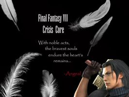 FFVII: CC - Angeal Wallpaper by Ladyofshadow