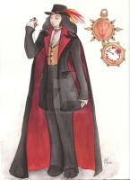 Faust: Mephisto Traveling by taeliac