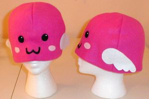 Angeling hat by chibishinigami
