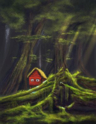 Red House by Werwal