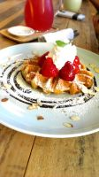 Cafe French Waffle by ychen183