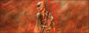 Signature Dead Pool by SuperBrioche