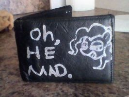 Pinkie Pie ''Oh, HE MAD'' Wallet by Dattebayo681