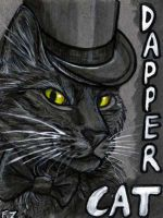 Dapper Cat Badge by Foxfeather248