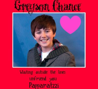 greyson chance by agiampa