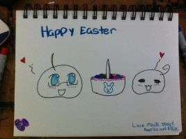 HAPPY EASTER by xXShadowfan2Xx