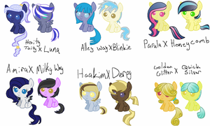 Shipping Foals (DTA CLOSED WINNERS FOUND) by FallenFateAdopts