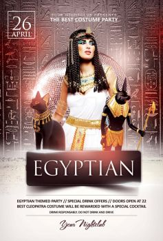 Egyptian Night - Flyer Template by YczCreative