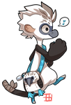 #168 Bagbean - Blue footed booby by griffsnuff