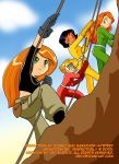 Totally Spies crossover Kim by J8d