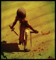 Kemet-war Pharaoh by LeeReex