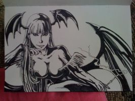 morrigan ink by inkone37