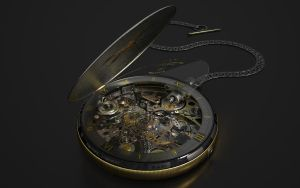 Pocket Watch by kceg