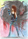 Anahera: The Black Wolf by LittleMissAlexius
