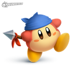 Waddle Dee Smashified (transparent) by hextupleyoodot