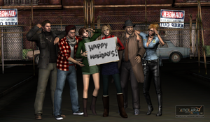 ...and happy holidays! by Ygure