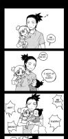 Little kiddos- ShikaTema by h-ozuno