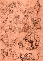 Sketches... by VixieArts