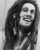 Bob Marley by Nobody-Parks-Here