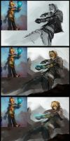 Ezreal - Process by GreyFox123