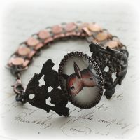 Two-Headed Deer Bracelet by asunder
