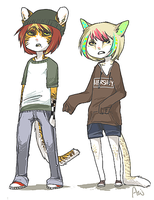 graham and remmy by alpacasovereign