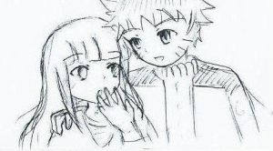 Naruhina couple by Zikriany
