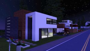 -EXTE MODERNO- sims 3 house by MarosStefanovic