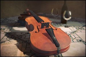 Still life with violine by xcEmUx