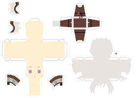 Viking Iceland Papercraft by KimiMonsterKitty