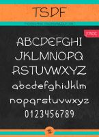 ThornSpine Disorganized Font (TSDF) by ThornSpine