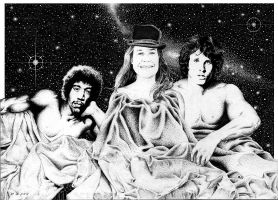 Jimmy,Janis and Jim by yatz