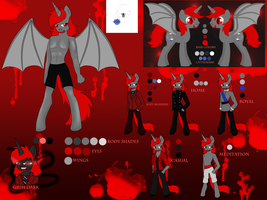New 2014 MeanSpirit Ref by DarkDreamingBlossom