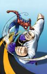 Spidey vs Kingpin colors by shaotemp