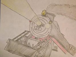 Hey Arnold: Engine #25 by metalheadrailfan