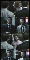 It's my little brother - Castiel and Dean by BeccaMalory