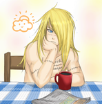 ::Sleepy Deidara:: by blumarine