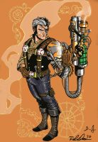 steampunk cable by pheonixtears21
