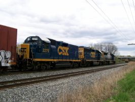 CSX MEET IN LORDSTOWN, OHIO by LDLAWRENCE