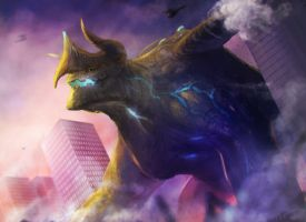 Kaiju by chalii
