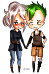Alecia and Aiden by FrostedTea