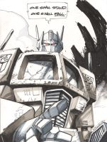 Optimus Prime by KharyRandolph