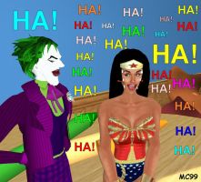 Laughing With The Joker by The-Mind-Controller