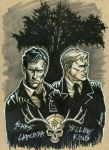 True Detective Sketch by broken-nib