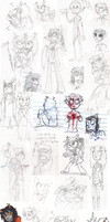 I draw too much homestuck by Socks-and-Notebooks